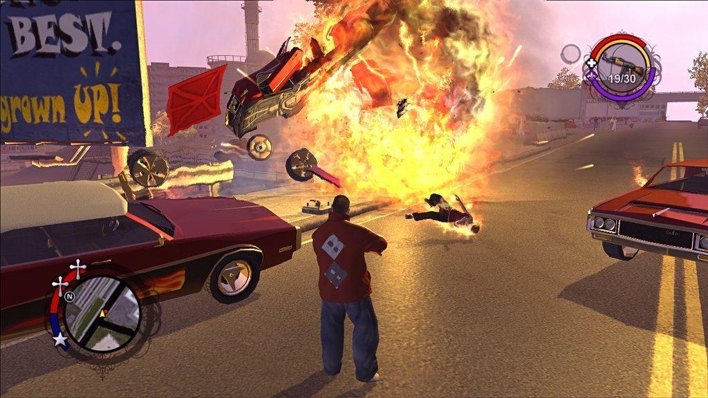 Saints row (game) giant bomb.