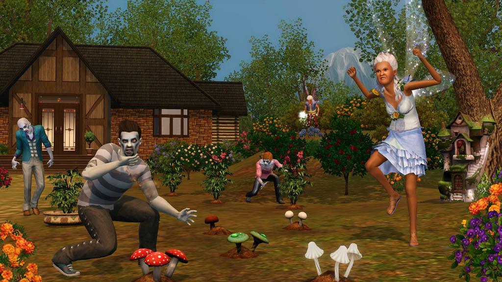 скачать игру sims 3 сверхъестественное на компьютер бесплатно.