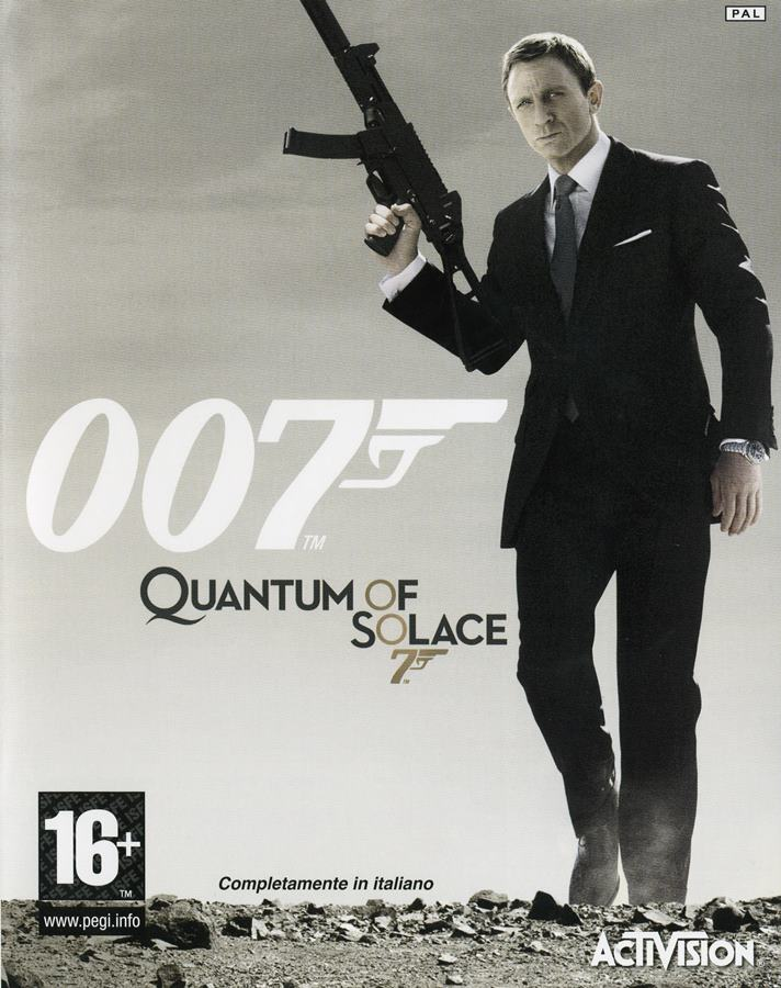 Игру Агент-007 Квант Милосердия