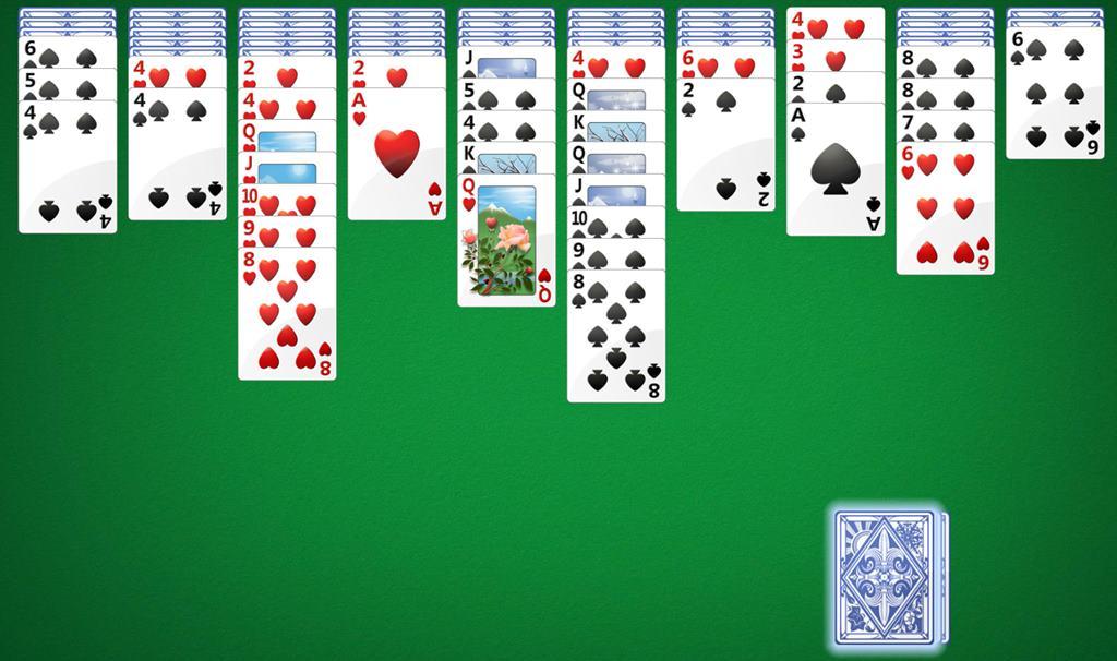 Как играть в карты паук на компьютер как действуют рулетки в казино
