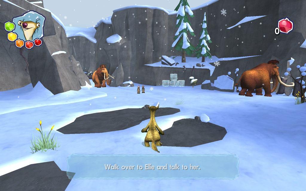 Ледниковый период 3 торрент игра.