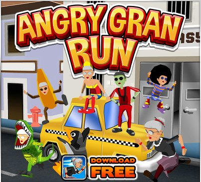 Angry gran run скачать на компьютер - фото 7