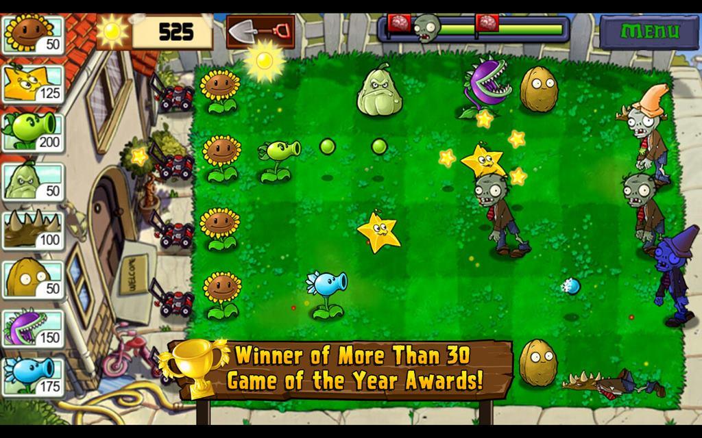 скачать игру растения против зомби компьютер