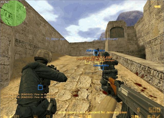 Онлайн игра counter strike