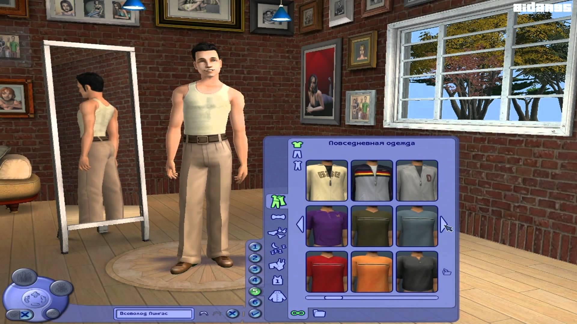 The Sims 2: Эммануэль Скриншоты