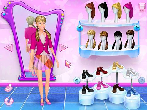 Барби на axipix: игра барби показ мод.