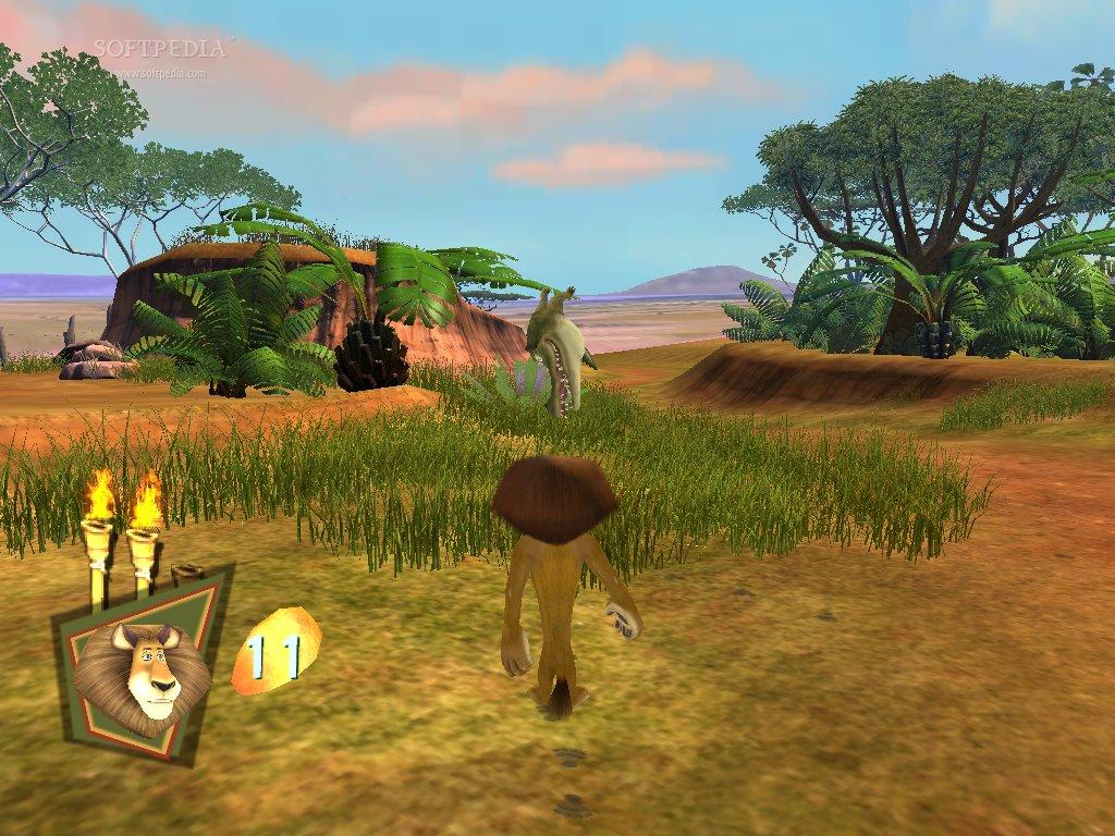 Madagascar: escape 2 africa (2008) rus скачать через торрент на pc.