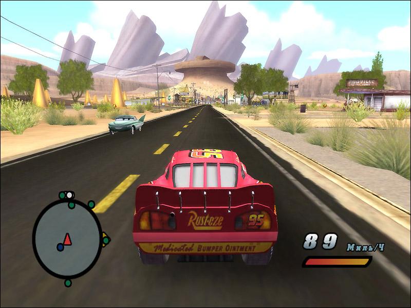 Тачки / cars: the videogame (2006/pc/русский) | лицензия скачать.