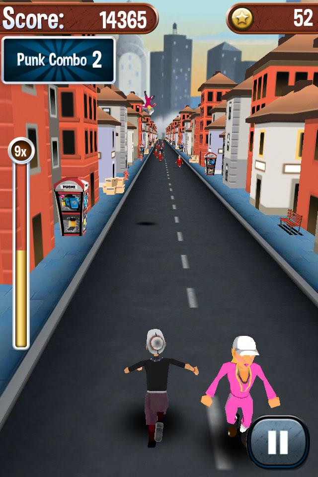 Беги, бабуля, беги играть онлайн бесплатно Игра Angry