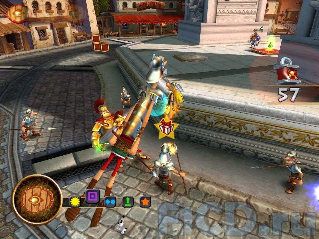Астерикс и обеликс игру на компьютер торрент.