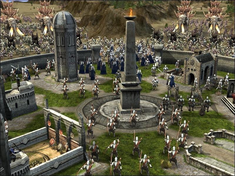 Игра властелин колец скачать битва за средиземье