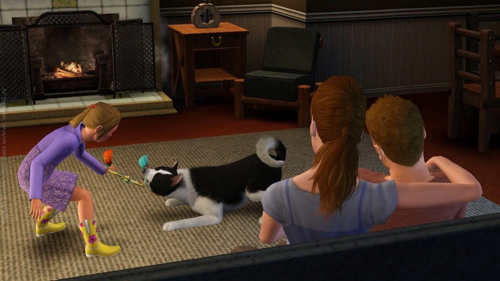 Sims 3 скачать через торрент игру